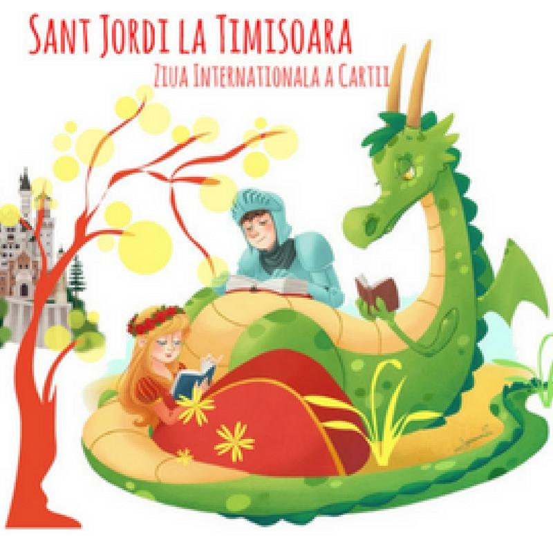 Sant Jordi ajunge din nou la Timișoara!