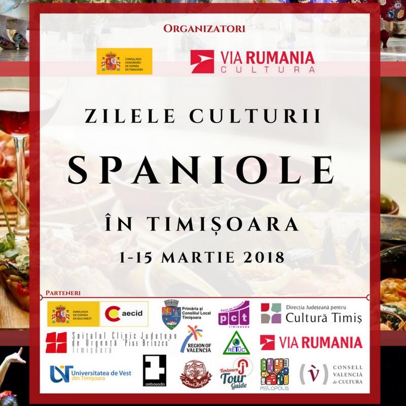 Începe cea de-a IV-a ediție a Zilelor Culturii Spaniole la Timișoara